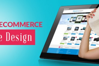 custom ecommerce website design