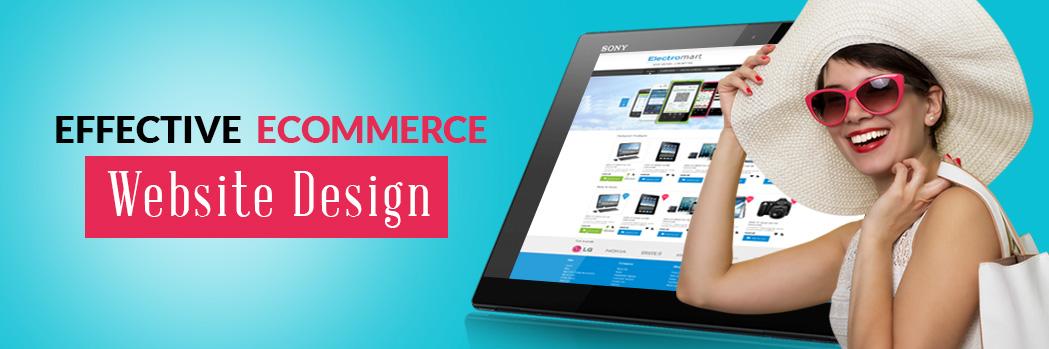 custom ecommerce website design
