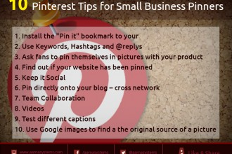 10 Pinterest Tips for Small Business Pinners