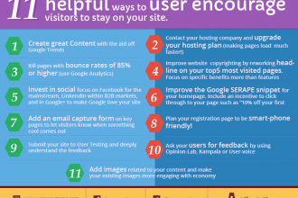 11 helpful ways to encourage visitors to stay on your site
