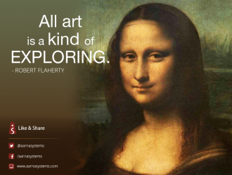 All art is a kind of Exploring