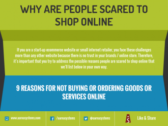 Why are people scared to shop online?