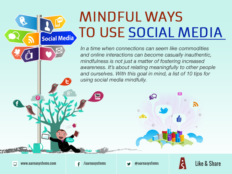 Mindful ways to use social media