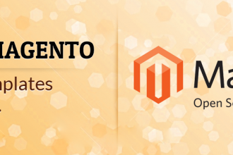 Default templates in magento