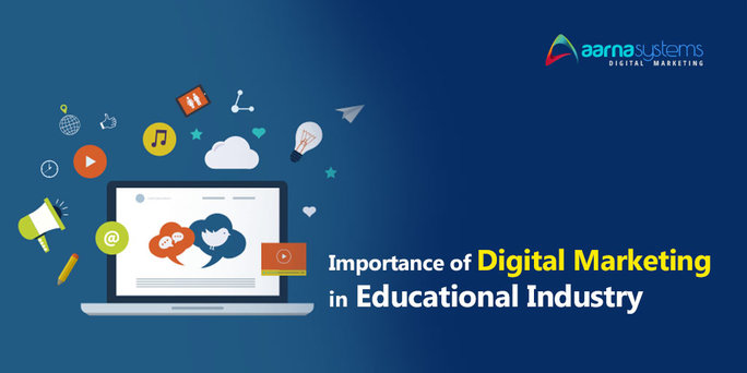 Why Online Marketing is Important for Educational Industry?