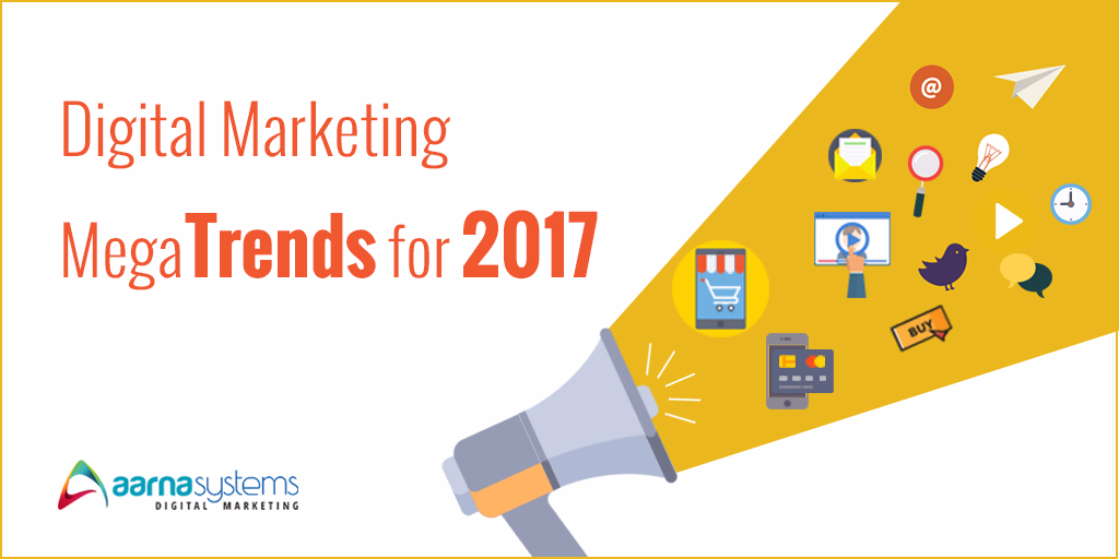 Digital Marketing trends for 2017