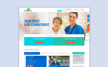 Healthcare Website Design Company